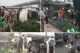 Vụ xe Mercedes gây tai nạn liên hoàn tại cầu vượt Mai Dịch (Hà Nội): Một thiếu nữ bị hôn mê, đa chấn thương