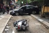 Hà Nội: Nữ tài xế lùi xe ô tô khiến 1 phụ nữ chết thảm