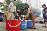 Đầu hè, người dân Hà Nội canh cánh nỗi lo thiếu nước