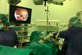 Bé trai 7 tháng tuổi bị dị dạng bạch huyết trong ổ bụng rất hiếm gặp