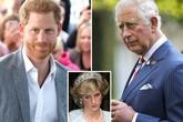 Harry từng hét 'con ghét bố' với Thái tử Charles vì làm mẹ khóc