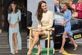 """Những khoảnh khắc cho thấy hóa ra Công nương Kate đã nhiều lần khoe khéo đôi chân nuột nà không tỳ vết của mình, được em chồng Harry khen ngợi là """"vũ khí chết người"""""""