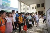 Tỷ lệ chọi vào lớp 10 trường chuyên thuộc các đại học ở Hà Nội