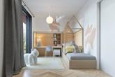 Những phòng ngủ khơi gợi sự yêu thích sáng tạo cho trẻ