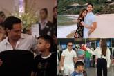 Hà Hồ hạnh phúc khi con trai thân thiết với Kim Lý