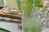 Cách nấu nước nha đam ngon mát, thanh nhiệt cho mùa hè