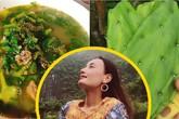"""Lê Thúy về quê khoe đặc sản quê nhà, Lan Khuê trố mắt vì """"Canh lạ quá"""""""