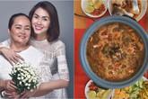 """Mẹ đẻ Tăng Thanh Hà làm lẩu mắm ngon như nhà hàng khiến dân tình """"chảy nước miếng"""""""