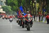 """Ngắm dàn mô tô khủng bảo vệ đoàn đua xe đạp """"Về Điện Biên Phủ - 2019"""""""