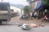 Tai nạn thương tâm: Nhân viên bưu điện bị xe ô tô tải chèn tử vong