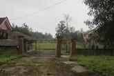 Khu đất nhà nghỉ đẹp như mơ ở Xuân Thành (Hà Tĩnh) thành nơi... nuôi lợn