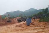 Tam Nông - Phú Thọ: Lợi dụng san gạt đường đi để khai thác khoáng sản trái phép?