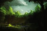 Dưới bóng rừng thiêng