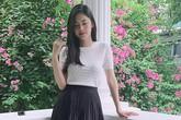 Vóc dáng sau sinh ít ngày gây tranh cãi của Á hậu Thanh Tú