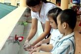 Tăng cường việc rửa tay tại các trường học, ngăn ngừa bệnh
