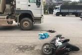 Hà Nội: Sĩ tử bị xe bồn tông gãy chân trên đường đi thi về
