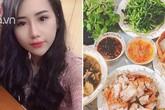 Những mâm cơm đầy ắp món của 9x Quảng Ninh khiến chồng phải thốt lên