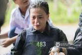 Thêm hình ảnh và clip 'Quỳnh búp bê' Phương Oanh cầm máu, khóc nức nở khi quay show thực tế trong rừng