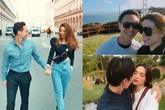 """Kỉ niệm 2 năm, Kim Lý ngọt ngào nói """"yêu em nhất"""" với Hà Hồ"""