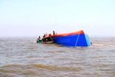 Tàu cá chìm trên biển, 9 thuyền viên Nghệ An mất tích