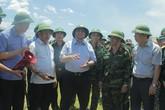 Trưởng Ban Tổ chức Trung ương trực tiếp kiểm tra hiện trường vụ cháy kinh hoàng ở Hà Tĩnh