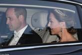Thái độ lạnh nhạt của Hoàng tử William với Kate trong bữa tiệc đón tiếp TT Trump khiến nhiều người chú ý