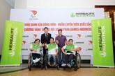 Herbalife phối hợp cùng hiệp hội Paralympic Việt Nam tổ chức lễ vinh danh các vận động viên Paralympic Việt Nam