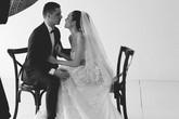 Phương Mai hé lộ hậu trường chụp ảnh cưới với chồng Tây