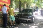 Hà Nội: Nữ tài xế Mercedes đâm trọng thương người phụ nữ trước công viên Cầu Giấy