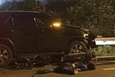 Hà Nội: Chạy ngược chiều trên Đại lộ Thăng Long, nam thanh niên đi xe máy bị tông tử vong