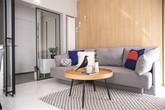Thiết kế căn hộ vỏn vẹn 53m² đảm bảo được sự tiện nghi và nhu cầu của chủ nhà