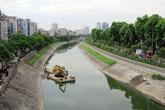 Người Hà Nội vui mừng thấy sông Tô Lịch bất ngờ trong xanh