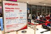 """Tỷ lệ chậm chuyến của 3 """"ông lớn"""" hàng không Việt đều tăng"""