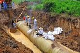 Nhiều nơi tại Hà Nội đang tạm ngừng cấp nước sạch từ sông Đà