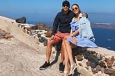 Tăng Thanh Hà hạnh phúc bên chồng con trong kỳ nghỉ hè ở Hy Lạp