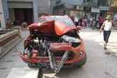 Vụ xe EcoSport tông hàng loạt xe rồi bỏ chạy: Tài xế gây tai nạn đã ra trình diện tại cơ quan công an