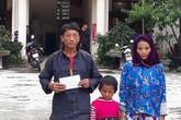 Gia đình 2 cô bé khiếm thị người dân tộc đã nhận được tấm lòng hảo tâm của độc giả báo Gia đình và Xã hội