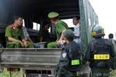 Trăm cảnh sát vây trên núi tìm người đàn ông nghi giết vợ