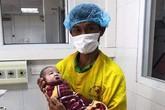 Cứu sống bé gái sơ sinh bị xuất huyết phổi nặng bằng phương pháp thử máy cao tần HFO, cầm máu và bơm sunfactan