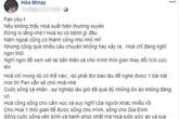 Hòa Minzy bất ngờ viết tâm thư gửi fan, tuyên bố muốn nghỉ ngơi giữa lúc cuộc sống và sự nghiệp gặp nhiều ồn ào không đáng có