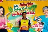 Hảo Hảo trao những cặp vé du lịch quốc đảo Maldives đầu tiên cho khách hàng may mắn