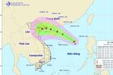 Áp thấp nhiệt đới khả năng mạnh thành bão đi vào đất liền Việt