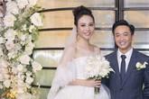 Điểm 'độc nhất vô nhị' tạo nên vẻ lộng lẫy của Đàm Thu Trang - người vợ chính thức đầu tiên của Cường đô la