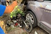 """Hai mẹ con ở Thái Nguyên thoát chết thần kỳ sau khi bị """"xe điên"""" tông trúng"""