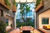 Tạo khoảng trống 25 m2 giữa nhà khiến biệt thự ven Hà Nội trở nên đặc biệt