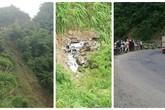Sơn La: Xe tải mất lái lao xuống vực sâu 200 mét khiến tài xế tử vong