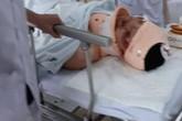 """Thông tin mới nhất về sức khỏe CSGT bị """"xe điên"""" tông trực diện ở Hải Phòng"""