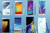 Dòng Galaxy Note phát triển thế nào sau 9 năm