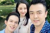 """Maya khoe ảnh gia đình hạnh phúc bên MC Tuấn Tú và Quang Anh, dân mạng rần rần đoán mẹ Bảo """"Về nhà đi con"""" trở về"""