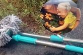 Hà Nội: Chổi lau nhà rơi từ tầng 17 chung cư xuống đất khiến 1 bé trai vỡ đầu nhập viện